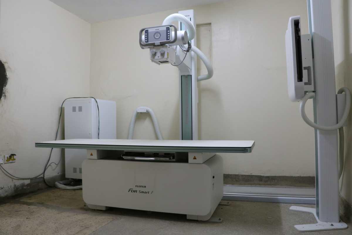 Ein Röntgengerät